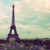 Eiffel View Posters by Emily Navas
