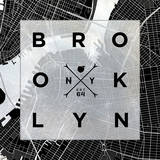 Brooklyn Square Prints by  SD Graphics Studio