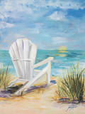Relax in the Beach Breeze Prints by Julie DeRice