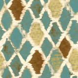 Teal Thatch I Poster by Patricia Quintero-Pinto