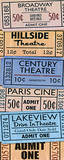 Theater Tickets Prints by  Piddix