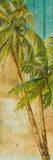 Beach Palm Panel I Kunstdrucke von Patricia Quintero-Pinto