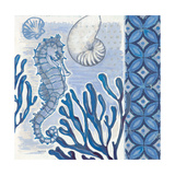 Fanciful Seahorse 2 Premium Giclee Print by Norman Wyatt Jr.