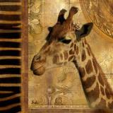 Elegant Safari III Kunstdrucke von Patricia Quintero-Pinto