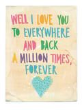 Everywhere And Back Prints by Paula Mills