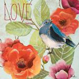 Beautiful Bird II (Love) Posters by Patricia Quintero-Pinto