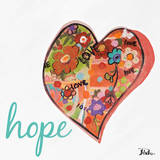 Hearts of Love & Hope I Posters by Patricia Quintero-Pinto