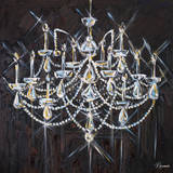 Chandelier II Posters by Heather French-Roussia