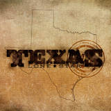 Texas Lone Star Posters by  SD Graphics Studio