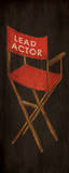 Now Showing Chair Plakater af Gina Ritter