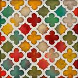 Color Burst Lattice I Prints by Lanie Loreth