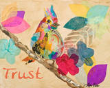 Band of Inspired Birds IV Prints by Gina Ritter