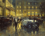Glamorous Evening Giclee Print by Alan Fearnley