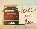 Peace and Love Posters por Gail Peck