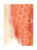 Flying with Colors 1 - Orange Premium Giclee Print by Sophia Buddenhagen