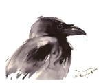 Raven 2 Poster by Suren Nersisyan