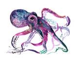 Octopus 4 Kunstdruck von Suren Nersisyan