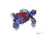 Sea Turtle Babe 2 Poster van Suren Nersisyan
