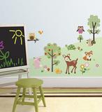 Foresta amica (sticker murale) Decalcomania da muro