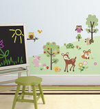 Friendly Forest Wall Decal