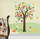 Charming Woodland - Duvar Çıkartması