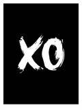 Xo Print by Brett Wilson