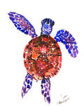 Sea Turtle 3 Prints by Suren Nersisyan