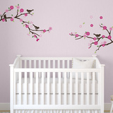 Blossoms and Branches Sticker mural