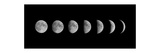 Moon Phases Prints by  oriontrail2