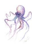 Octopus 5 Posters af Suren Nersisyan