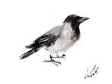 Hooded Crow 4 Prints by Suren Nersisyan