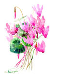Cyclamens Posters by Suren Nersisyan