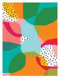 Geometric Shapes Prints by Paula Mills