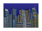 City Lights Prints by  Milovelen