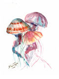 Jellyfish Art by Suren Nersisyan
