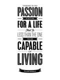 Brett Wilson - There Is No Passion - Poster