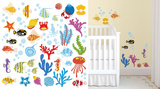 Ocean Wonders Autocollant mural