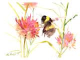 Bumblebee Prints by Suren Nersisyan