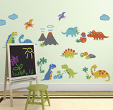 Dino Friends - Duvar Çıkartması