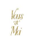 Vous Et Moi Poster by Brett Wilson
