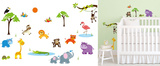 Safari Adventure Wallstickers
