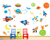 Super Space Explorer Wallstickers