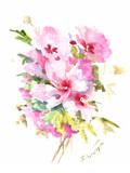 Rose Of Sharon Poster by Suren Nersisyan