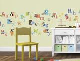 Alfabeto degli animali (sticker murale) Decalcomania da muro