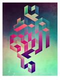Isyhyrtt Dyymyndd Spyyre Print by  Spires