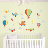High Flying Wall Decal