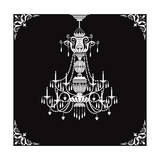 Crystal Chandelier Prints by  Milovelen