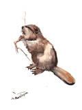 Beaver Plakaty autor Suren Nersisyan