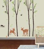 Tranquil Woodland - Duvar Çıkartması