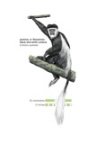 Black and White Guereza Monkey (Colobus Guereza) Poster